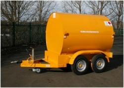2140 L diesel bowser twin axle